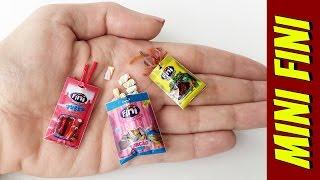 Como fazer Mini Balas Fini para Barbie e outras Bonecas!