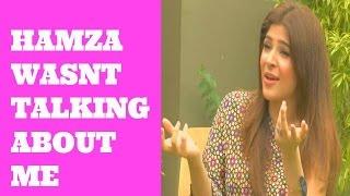 'Hamza Ali Abbasi wasn't talking about me' Ayesha Omar
