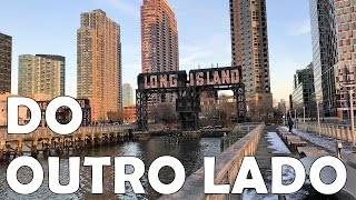 O OUTRO LADO DE MANHATTAN LONG ISLAND CITY SKYLINE