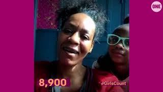 #GirlsCount | Adriane Jamison - 8,900