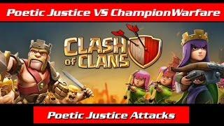 Poetic Justice VS ChampionWarfare