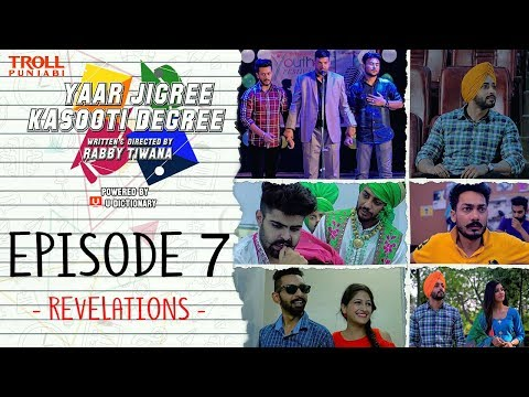 Xxx Mp4 Yaar Jigree Kasooti Degree Episode 7 Revelations Punjabi Web Series 2018 Troll Punjabi 3gp Sex