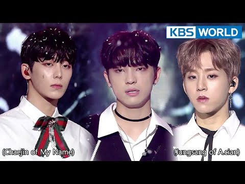 Male Vocal Green Unit - Miracles in December (original: EXO) [The Unit2018.01.24]