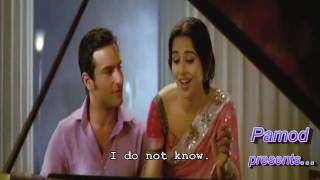 Piyu Bole - Parineeta - HD-  with English Subs - Pamod