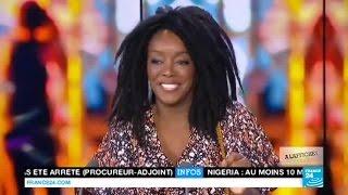 MUSIQUE : La diva Kaïssa Doumbé en LIVE à France 24 - CAMEROUN