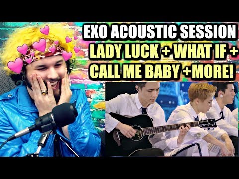 Download Lagu EXO(엑소)- Acoustic Session + Lady Luck +(시선둘,시선하나)What If.. | REACTION!! MP3