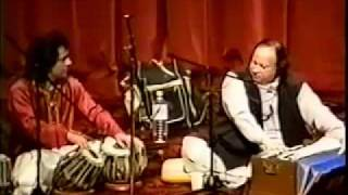 Ustad Tari Khan And Ustad Nusrat Fateh Ali Khan Live  Washington DC