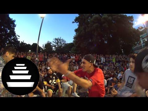 KLAN & REPLIK vs AFRITO & WOLF SEMIFINAL 2VS1 11 12 El Quinto Escalon