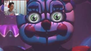 FNAF: SISTER LOCATION TRAILER + COMMENTI
