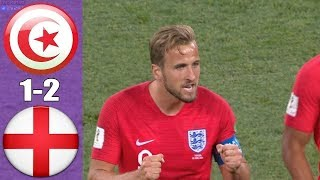 Tunisia vs England 1-2 World Cup Russia 2018 Highlights and Full Match