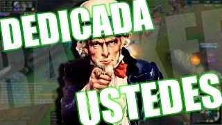 DEDICADA A USTEDES - RANKED #2 League Of Legends Argentina