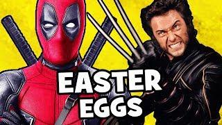 Deadpool 2 EASTER EGGS & Secret Cameos - X-Men, X-Force, Marvel, Disney, Star Wars
