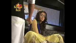 On Location of  TV Serial Kumkum Bhagya' Pragya  has Hangover  1