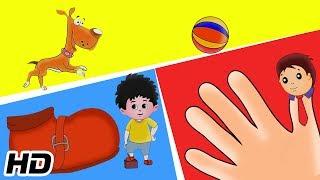 Finger Family Song Plus More Nursery Rhymes & Kids Songs   Shemaroo Kids