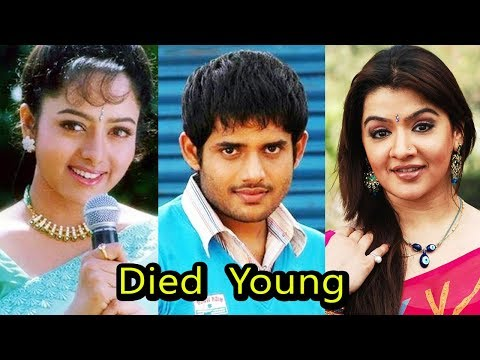 10 South Indian Celebrities Who Died Young | Shocking