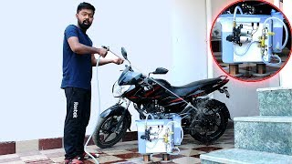 How to make a High Pressure Bike/Car Washer | Multi Purpose