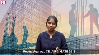 Reema Agarwal, CE, AIR 2, GATE 2018