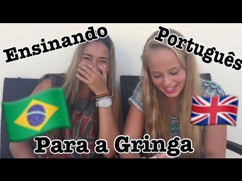 Ensinando Português Para a Gringa ft.