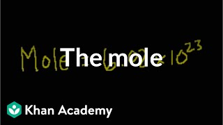 The mole and Avogadro's number   Atoms, compounds, and ions   Chemistry   Khan Academy