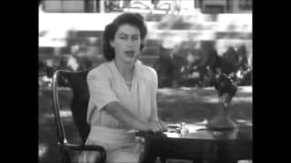 Queen Elizabeth II 21 years old speech