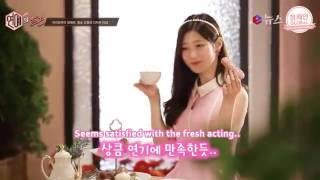 ENG SUB Chaeyeon for Petitzel Eclair's MV BTS