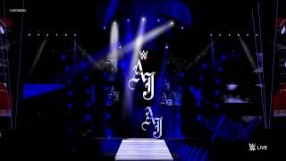 WWE Stage AJ Styles - Battleground 2016