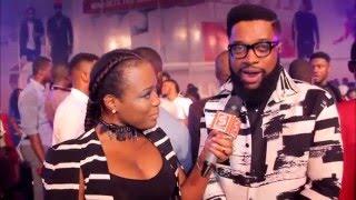 Ghana Music Awards 2016   Yvonne Nelson, E.L, Sarkodie & Wizkid's Backstage Interview