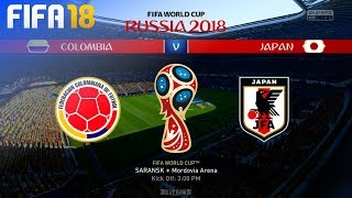 FIFA 18 World Cup - Colombia vs. Japan @ Mordovia Arena (Group H)