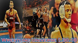 David Taylor and Kyle Snyder are champions; Eirman gets the fall; Mark Hall- Wrestling U.