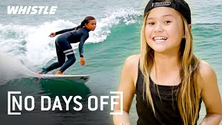 10-Year-Old PRO Skater & Surfing PRODIGY   Sky Brown