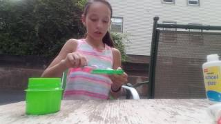 How to make slime with glue laundry detergent and water