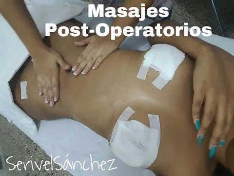 Masajes Post Operatorios