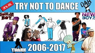 Hip-Hop Dances THEN & NOW (Try Not To Dance) 🤘🏽🕺🏽💃🏽