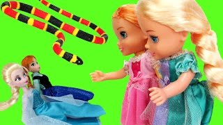 Elsa & Anna TURN small ! - Will they turn back to normal ?
