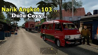 Di Pecat Jadi Supir Bus Akhirnya Jadi Supir Angkot Di Medan #ETS2