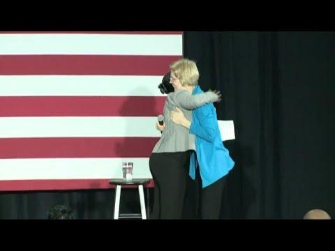 Xxx Mp4 Senator Elizabeth Warren Visits SC Promoting Possible Presidential Run 3gp Sex