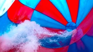 Tikibad Duinrell - Triton Cone Slide [NEW 2017] Onride
