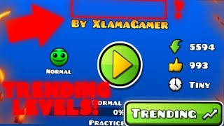 LEVEL WITH NO NAME! ~ Geometry Dash Trending Levels #3
