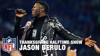 Jason Derulo Performs the Thanksgiving Halftime Show! | Vikings vs. Lions | NFL 2017