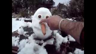 FROZEN, HOW TO BUILD OLAF FROM THE FROZEN MOVIE