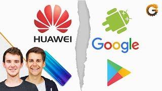 Kein Android mehr für Huawei: Google sperrt Lizenz! - News