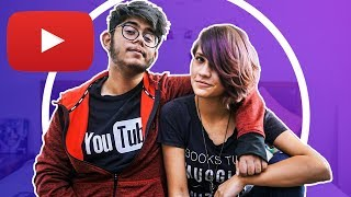 Dating an Indian Youtuber Ft. Anandita Adhaulya  | AKS