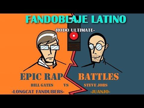 ERB -Steve Jobs vs Bill Gates- Fandub Latino by Longcat-Juanjo-Rodo