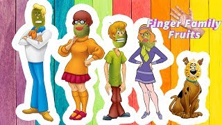Wrong Heads Scooby Doo Finger Family Song for Kids Jack Fruits Finger Family
