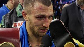 Lomachenko Post Fight Interview