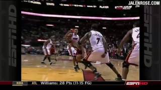 LeBron Throws Down SICK Hammer on Jermaine O'Neal - Cavs vs Heat