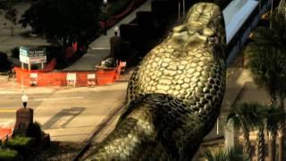 Mega Python vs. Gatoroid - Trailer