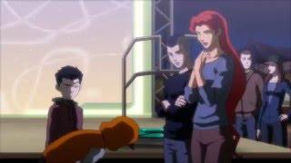Justice league vs Teen titans (Teen titans vs trigon minions)