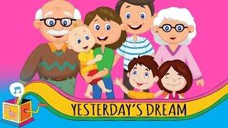 Yesterday's Dream | Children's Song | Karaoke
