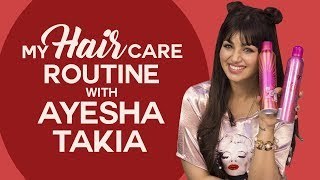 Ayesha Takia reveals her hair care routine secrets | Hair Care Tips | Fashion | Pinkvilla​